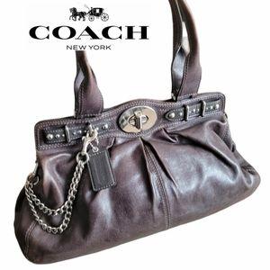 Coach Garnet Doctor's Leather Satchel/Tote